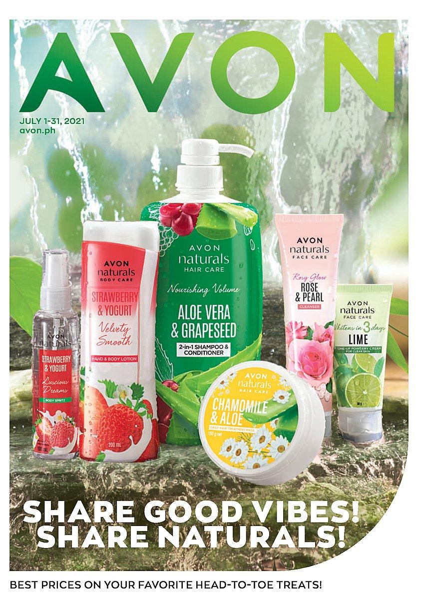 Avon Brochure July 2021